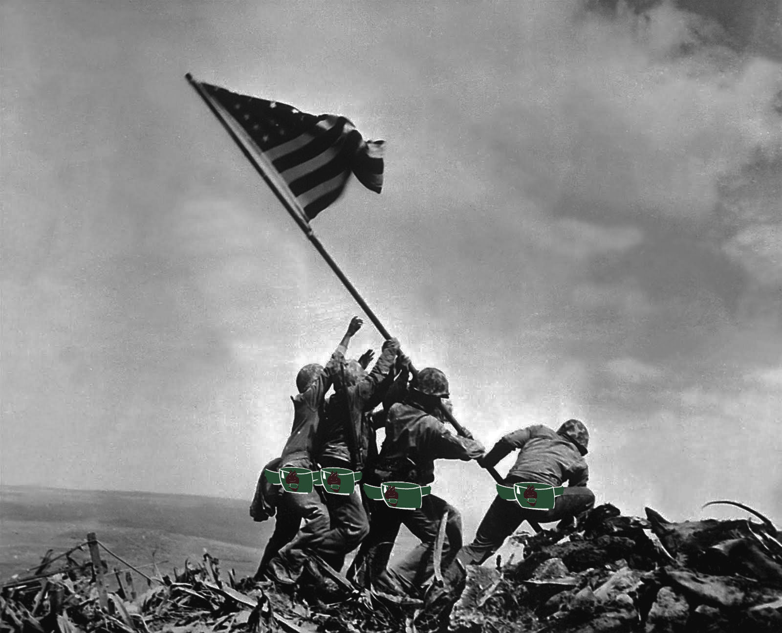 Photo History: Raising the Flag on Iwo Jima